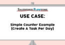 Use Case: Simple Counter Example in Flow