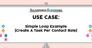 Use Case: Simple Loop Example in Flow