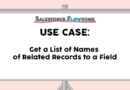 Use Case: Get a List of Names of Related Records to a Field