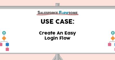 Use Case: Create an Easy Login Flow