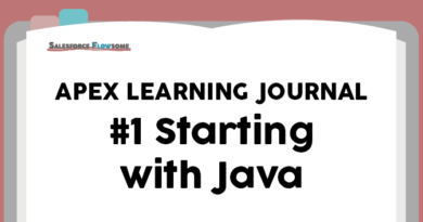 Apex Learning Journal #1 – Starting with Java