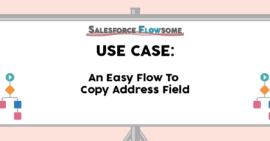 Use Case: An Easy Flow To Copy Address Field